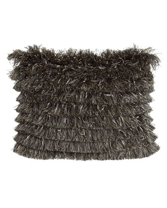 Fringe Boudoir Pillow, 12