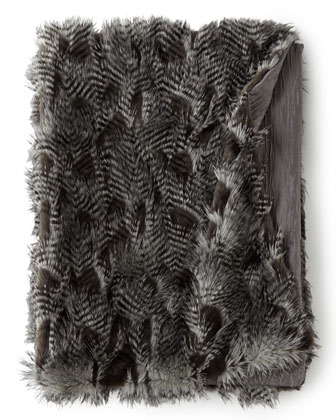 Faux-Fur Throw, 50