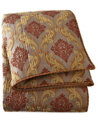 Queen Medallion Scroll Duvet Cover, 90