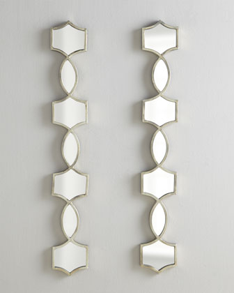 Vizela Mirrored Decor, Pair