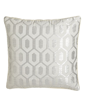 Alexa Geometric Jacquard Pillow, 16