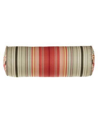 Striped Neckroll Pillow, 7
