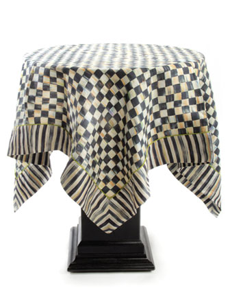 Courtly Check Square Topper
