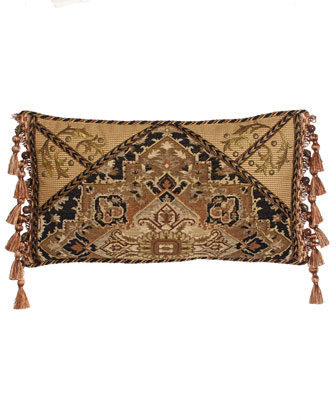 Envelope Pillow with Side Tassels, 23