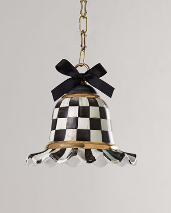 Small Courtly Check Pendant Lamp