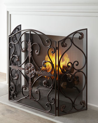 Jerrica Fireplace Screen