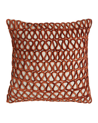 Velvet Loop Pillow, 22
