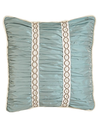 Ruched Pillow, 18