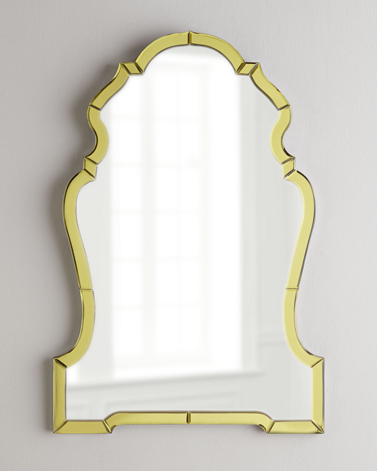 Golden Mirror-Framed Mirror, Gold