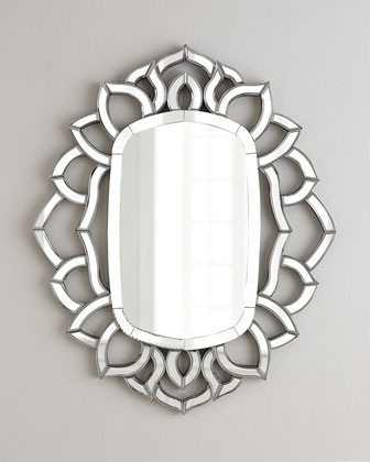 Ornate Framed Mirror