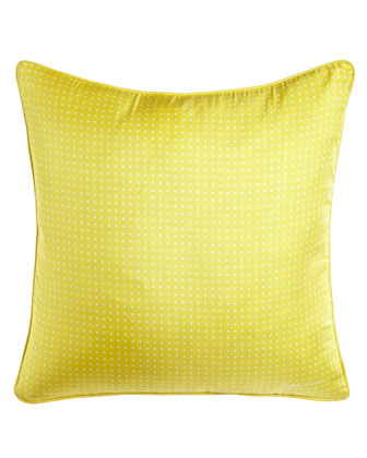 Connor Polka-Dot Pillow, 20