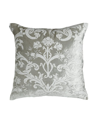 Square Applique Pillow, 24