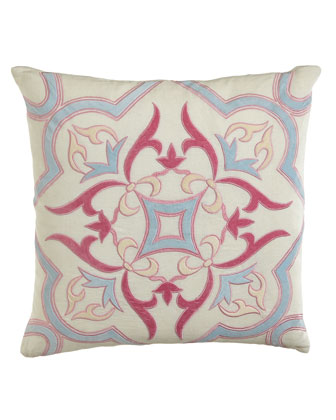 Multicolor Verano Medallion Pillow