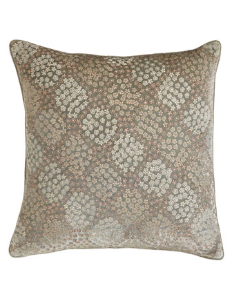 Averill Embroidered Pillow
