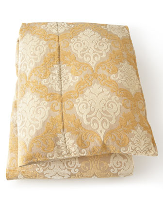 Queen Damask Duvet Cover, 92