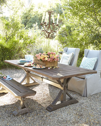 Park Shore Outdoor Dining Table