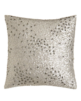 Sequin Pillow, 12