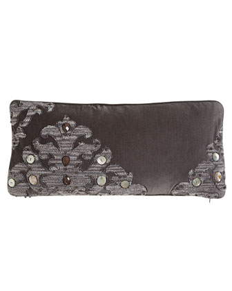 Velvet Pillow with Beadwork, 10