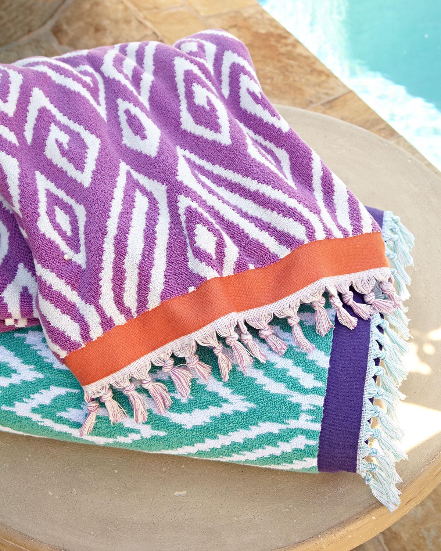 Kalasin Beach Towel, Lotus