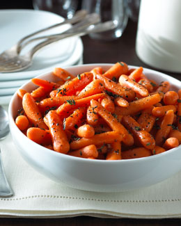 Apple Cider Glazed Carrots