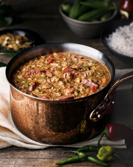 CAJUN TURKEY COMPANY Turkey & Sausage Gumbo