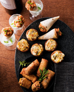 Southwest Appetizer Trio