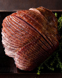 Thyme & Honey-Glazed Ham