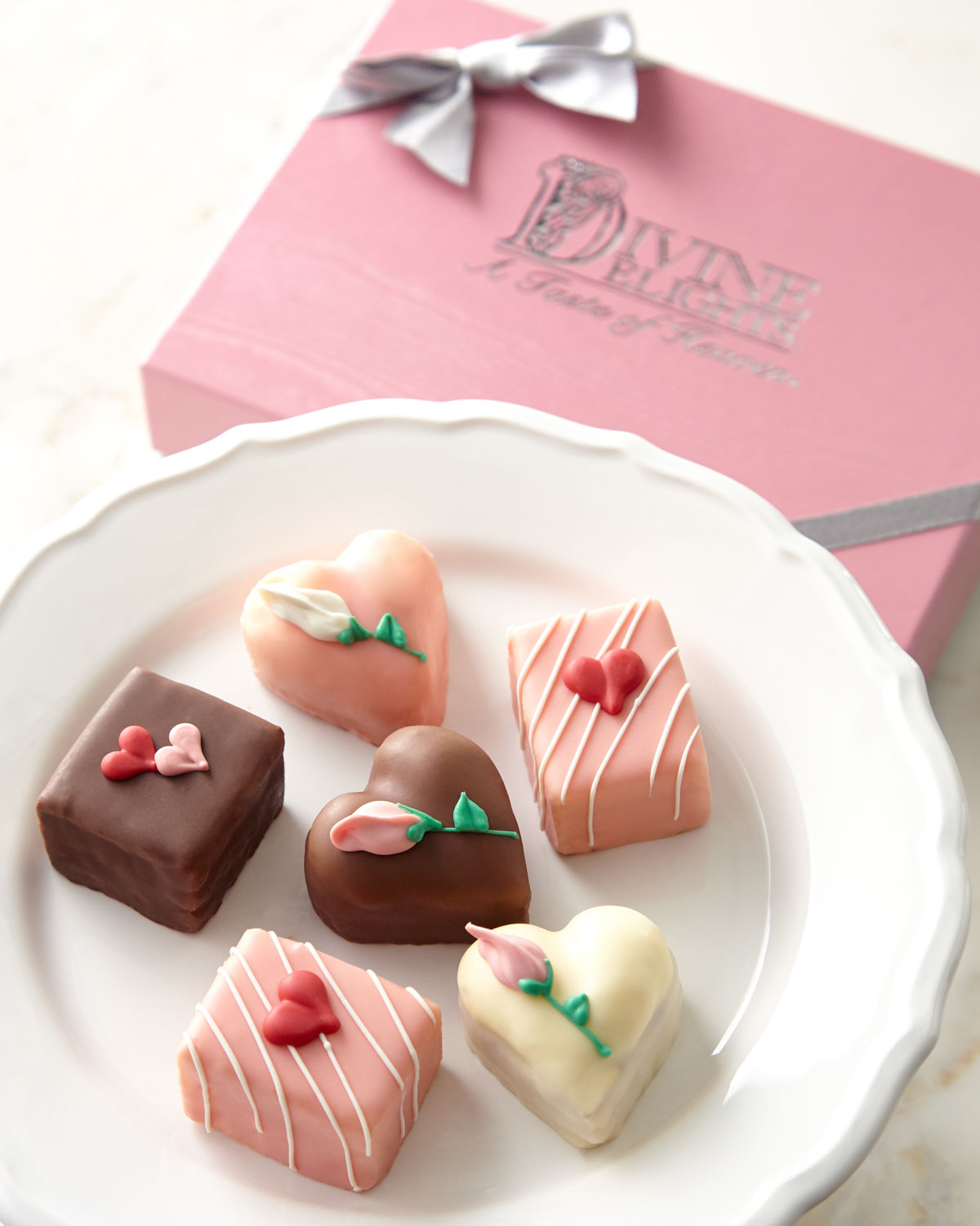 Valentine Petits Fours, Multi Colors