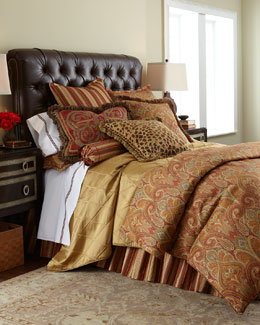 "Legacy By Friendly Hearts ""Cashmere Ruby Paisley"" Bed Linens"