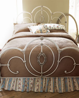 """Cameo"" Bed & Headboard"