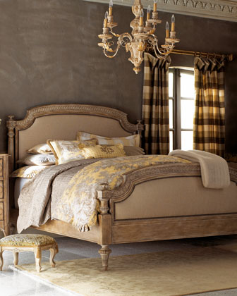 Tuscany Panel Bed, King