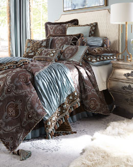 Dian Austin Couture Home Brompton Court Linens, King