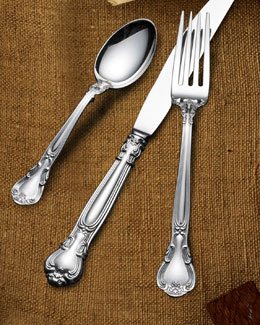 "65-Piece Gorham ""Chantilly"" Sterling-Silver Flatware Service"