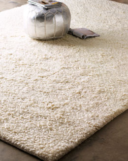 Exquisite Rugs White Shag Rug