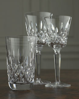 "Waterford Crystal ""Lismore"" Crystal Glassware"