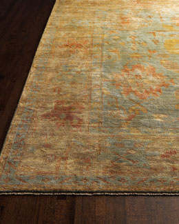 """Exquisite Rugs """"Victorian Oushak"""" Rug"""