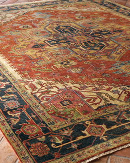 "Exquisite Rugs ""Washed Serapi"" Rug"