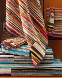 "Missoni Home ""Jazz"" Bath Towels"