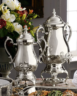 Silver-Plated Coffee Urns