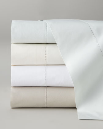 Queen Classic Hemstitch Sheet Set