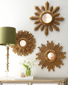 """Sunburst"" Mirrors"