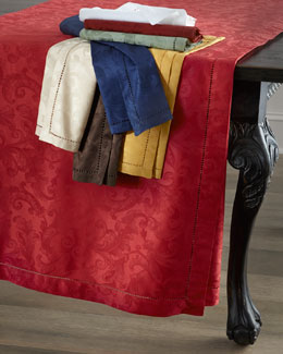 "SFERRA ""Plume Jacquard"" Table Linens"