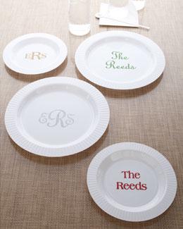 Premium Personalized Plates