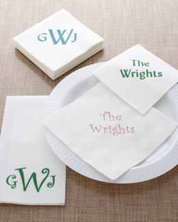 Print Appeal Inc Personalized Napkins & Guest Towels