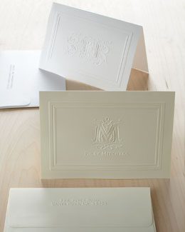 Rytex Company Ornate Embossed Notes