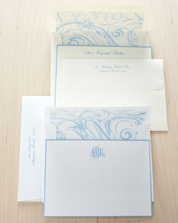 Rytex Company French-Blue-Bordered Notes