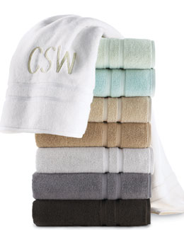 "Waterworks Studio ""Double Dobby"" Towels"