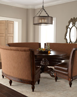 "Massoud ""Marie"" Dining Table & ""Hudson"" Banquette"