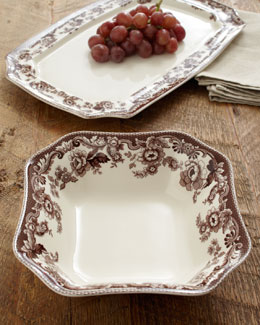 "Spode ""Delamere"" Serving Pieces"