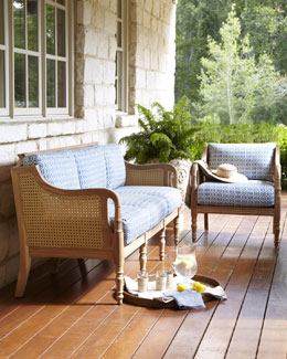 """Henri"" Outdoor Sofa & Chair"